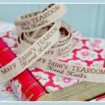 Mary Jane's TEAROOM Woven L..
