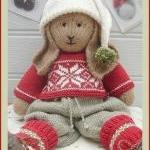 BO Rabbit Toy Knitting Patt..